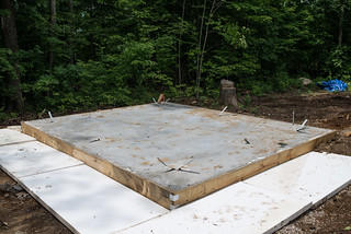 Frost Protected Slab Foundation With Wing Insulation | by goingslowly