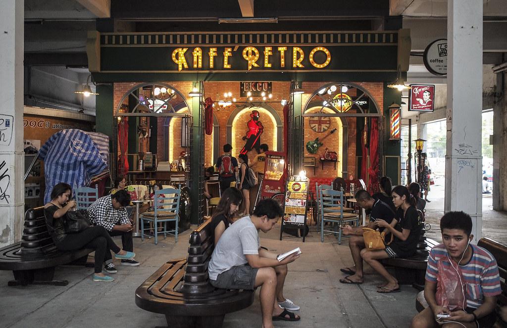 Bangkok Kafe Retro