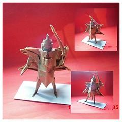 New Origami Gundam Origamist Origamiart Origamipaper Origamirobot Origamiindonesia Origmi2015