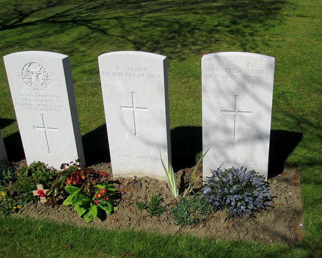 Hooge Crater Cemetery Graves