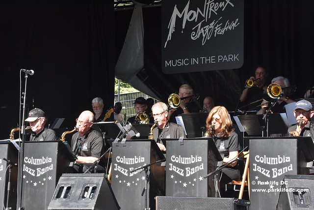 The Columbia Jazz Band play at Music in the Park during Montreux Jazz Festival 50 in July 2016. #MJF50