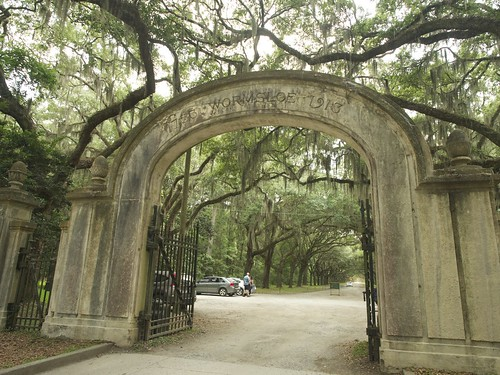 P6120304 薩凡納 Wormsloe Historic Site 白人蓄黑奴遺跡,橡樹長廊背後故事