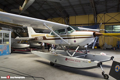 I-DROV - R1722810 - Aero Club Como - Cessna R172K Hawk XP - Lake Como, Italy - 160625 - Steven Gray - IMG_6378