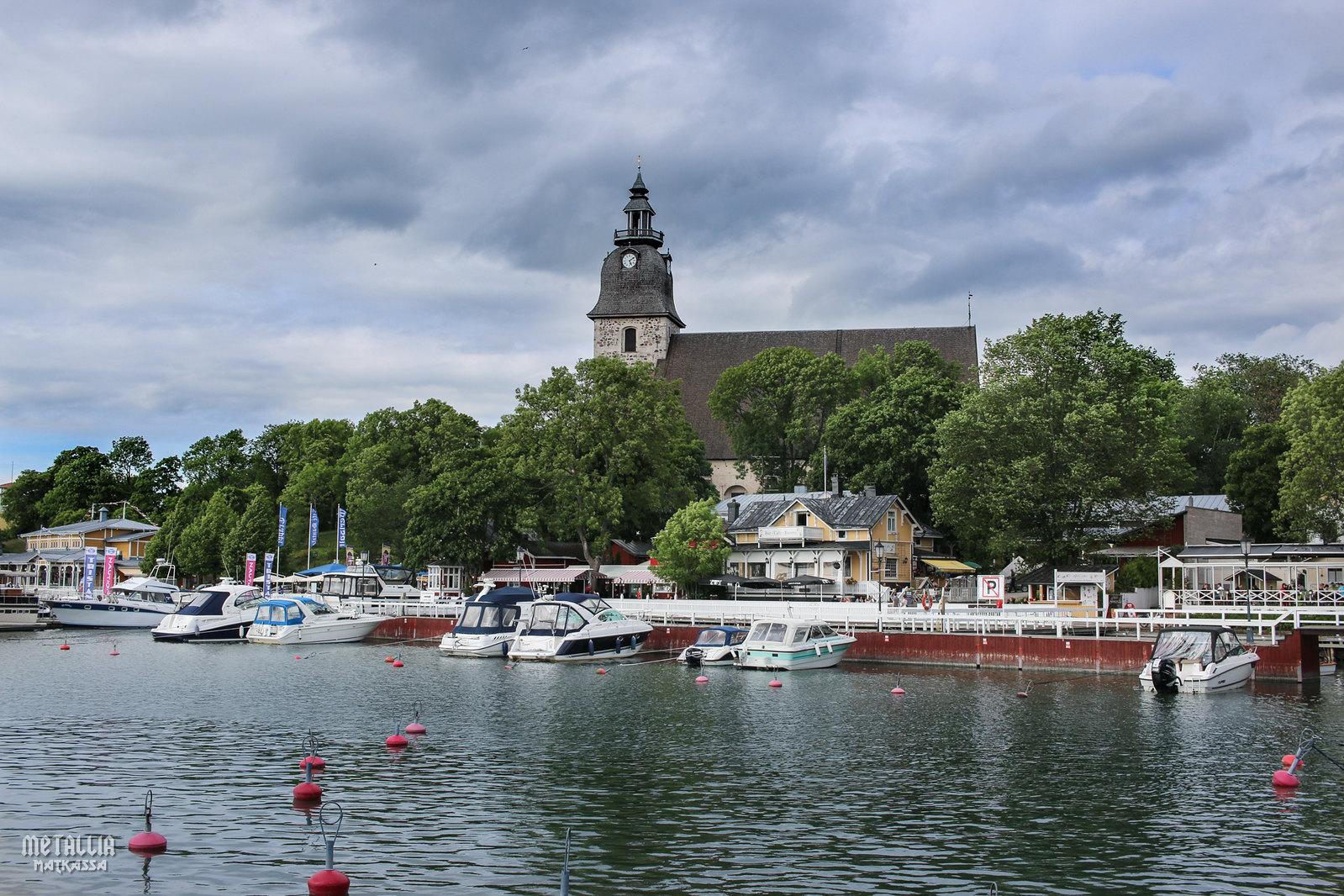 saariston rengastie, naantali, naantalin kirkko, naantalin satama