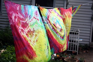 tie dye silks | by by hand at home