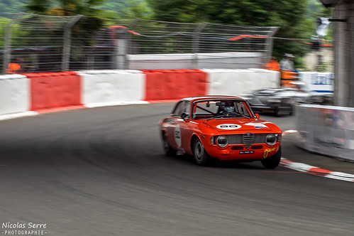 alfa romeo giulia sprint grand prix de pau historique 20 flickr. Black Bedroom Furniture Sets. Home Design Ideas