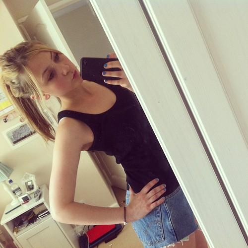 Shorts Hot Blonde Teen 121