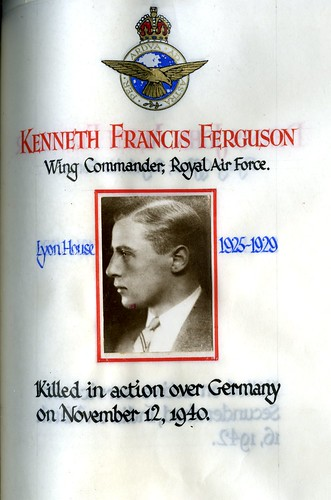 Ferguson, Kenneth Francis (1911-1940) | by sherborneschoolarchives