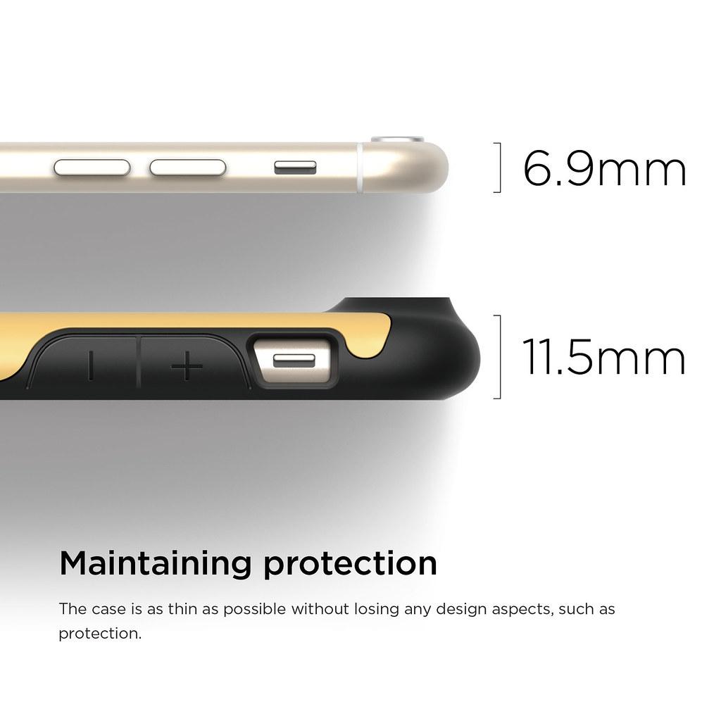 new product ef6e6 88f00 ES6DU-BKCY-4 | elago S6 Duro Case for iPhone 6 | Iam Elago | Flickr