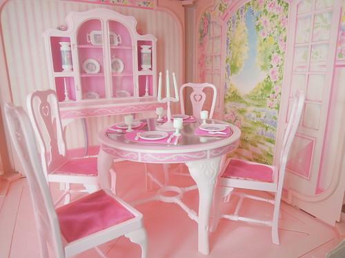 barbie dining room set | Barbie Fashion Dining Room Set #9478, 1984 MADE IN U.S.A ...