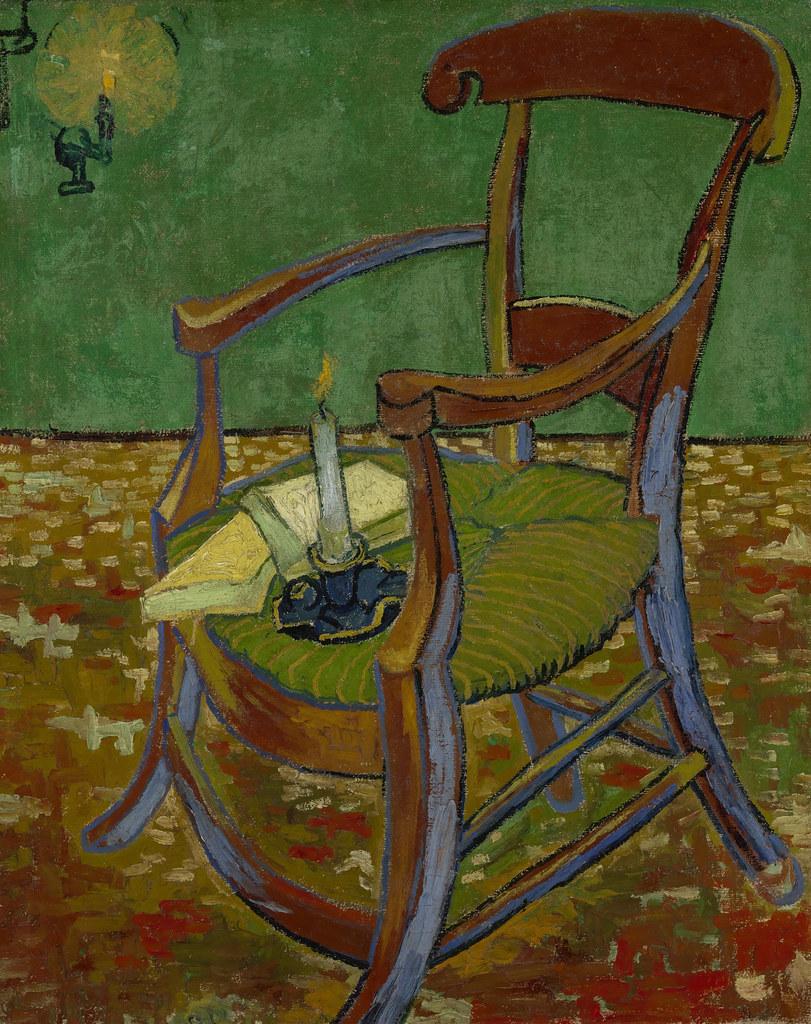 La Chaise De Gauguin V Van Gogh