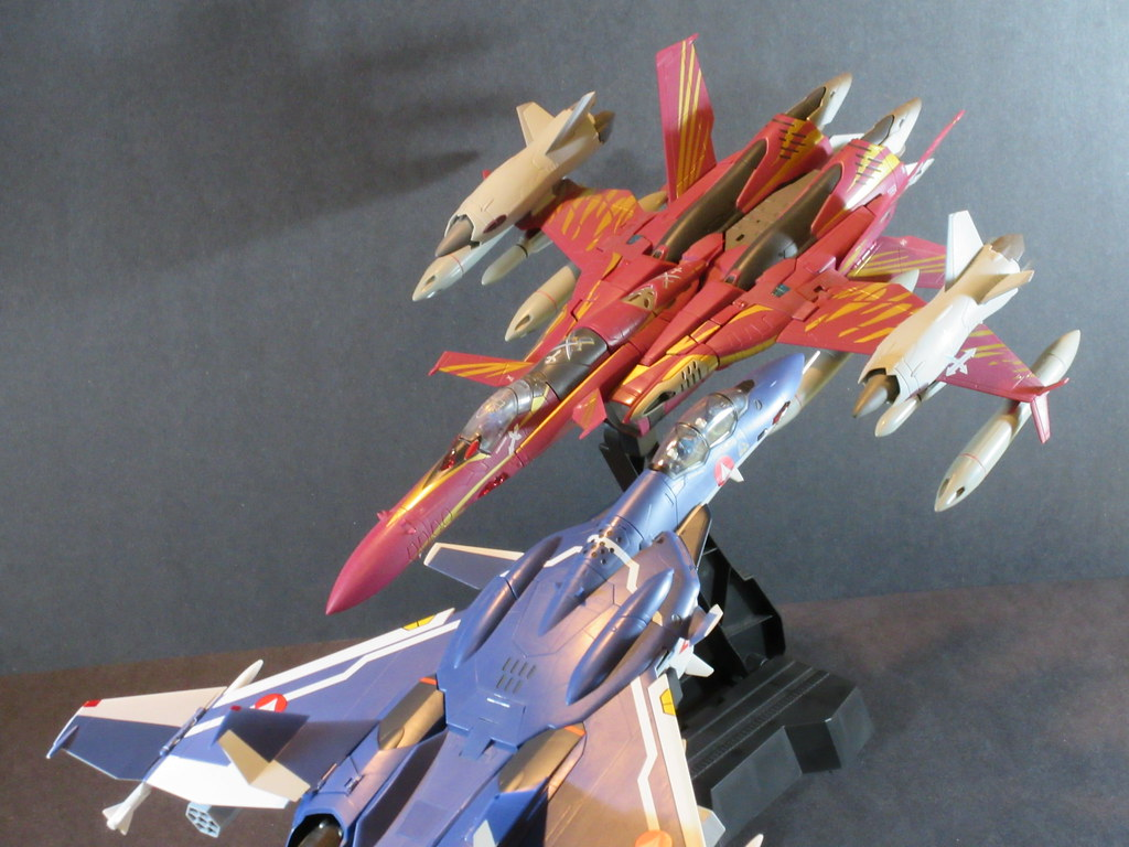 Goldenarms2424 Macross Zero Shin Vs Nora