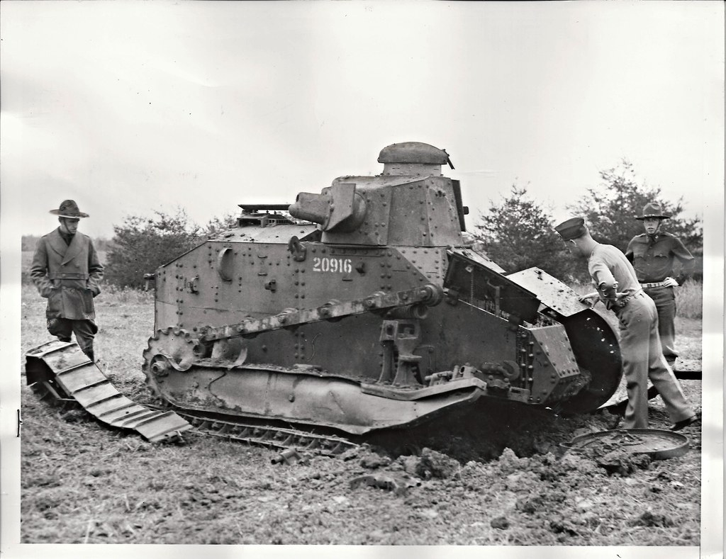 ... Renault FT Tank, Land Mine, Ft. Belvoir, Virginia, Fort   By