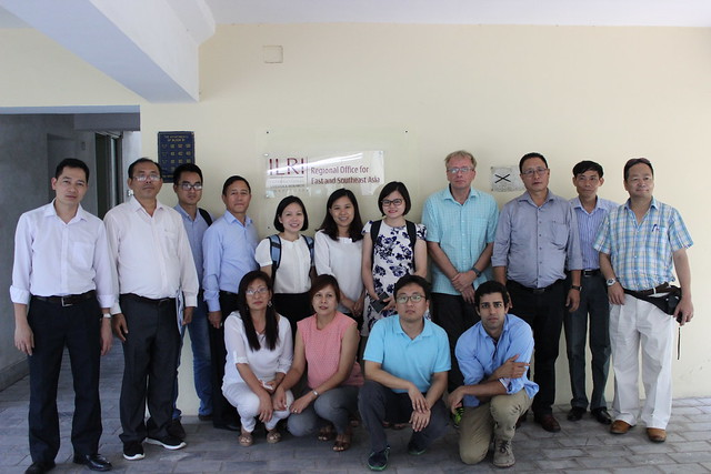 ILRI Vietnam staff with the Nagaland delegation