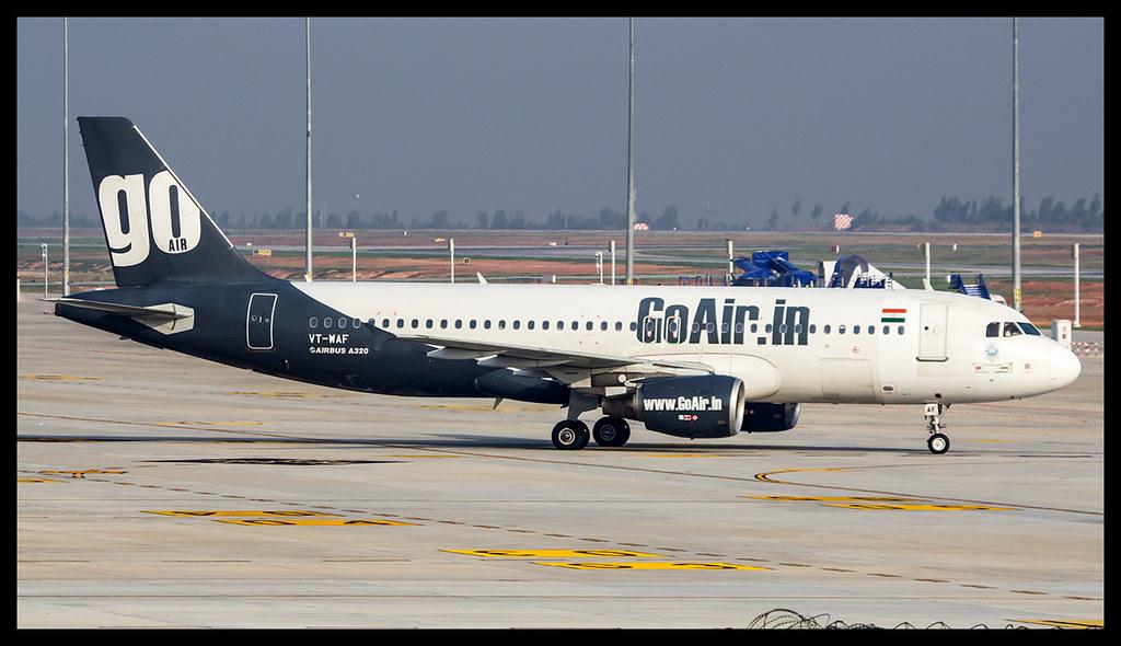 Go Air Airbus A320 VT-WAF Bangalore (BLR/VOBL)