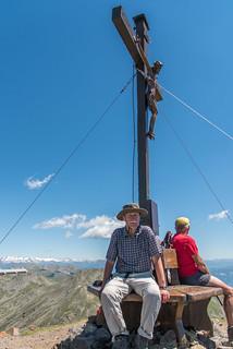 Gipfel Kassianspitze, 2581m