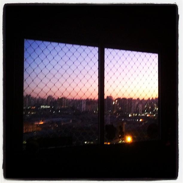... final de tarde na  mooca  ap  window  moocaverde  sunset  1d4fe55107d