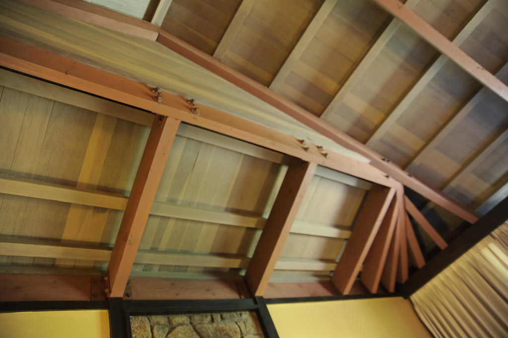 ... Architectural Details Of Beams U0026 Rafters, Ceiling / Roof Design  Interior Room, Corner View