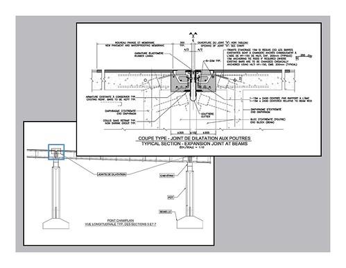 sch ma techique d 39 un joint de dilatation ponts jacques cartier champlain bridges flickr. Black Bedroom Furniture Sets. Home Design Ideas