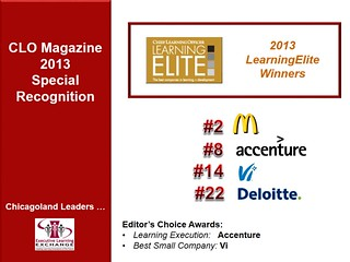 CLO LearningElite Awards-- CLLC2013 Recognizing Leaders | by learningexecutive