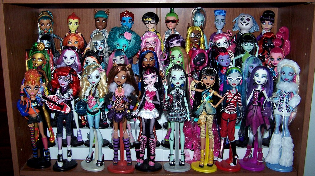 Unique Monster High Characters to date  I cant believe tha  Flickr