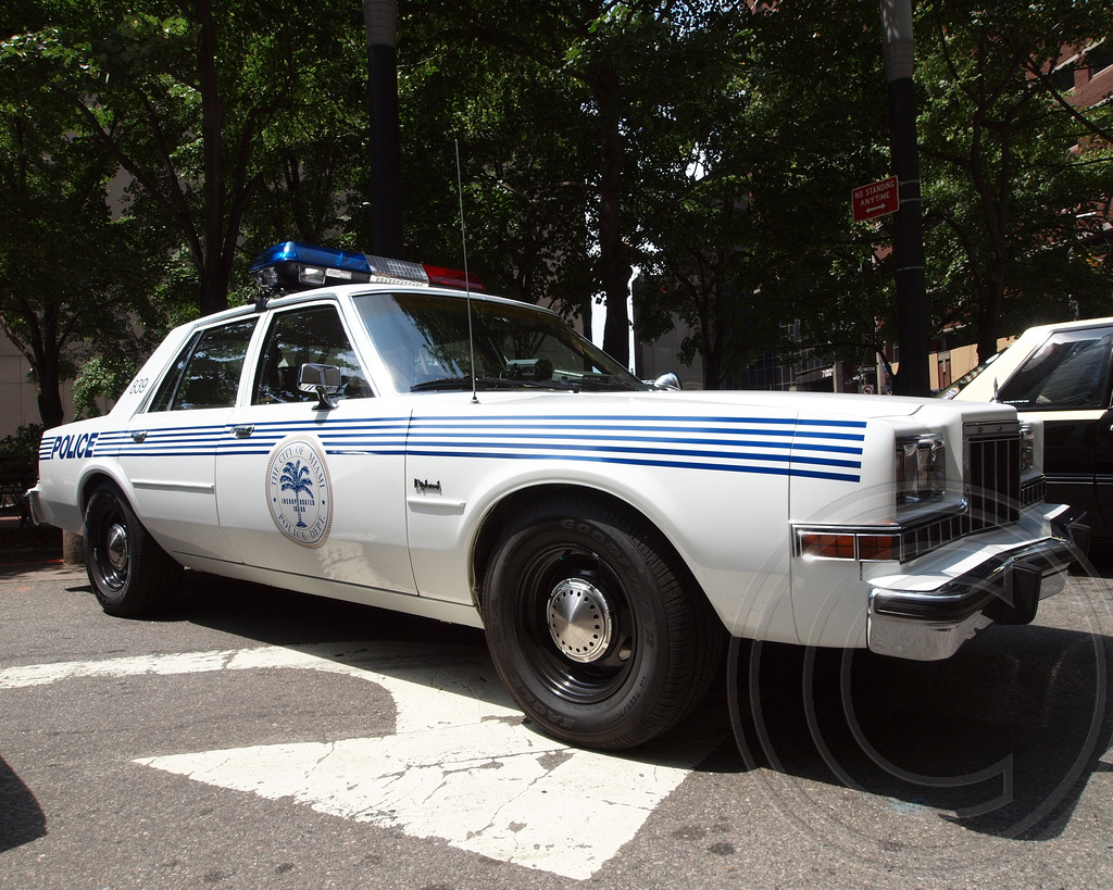 Vintage Dodge Diplomat City of Miami Police Car | 12th Annua… | Flickr