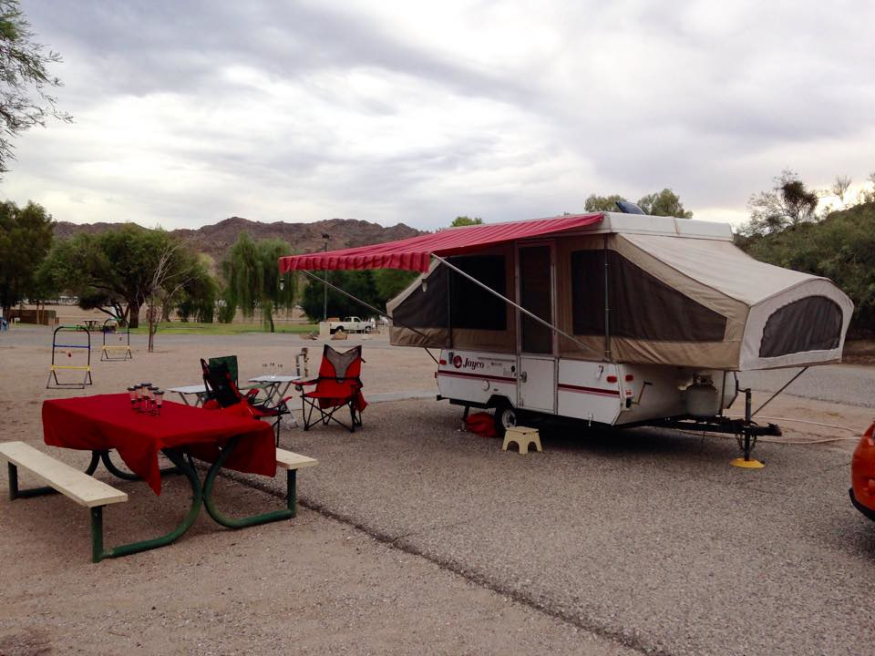 ... 1993 Jayco Eagle 8 And Homemade Awning | By Laurasmoncur