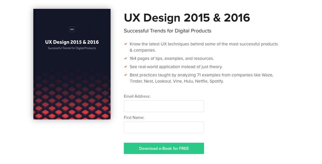 """Libro """"UX Design 2015 & 2016"""""""