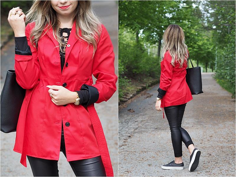 punainen takki