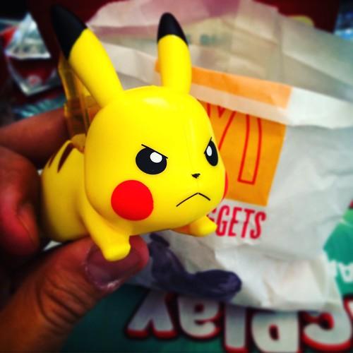 Pokémon de McDonald's en Chile 2016 | Pikachu
