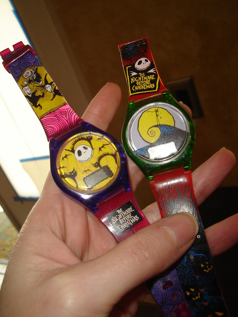 1993 Burger King, Nightmare Before Christmas Watches | Flickr
