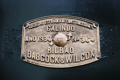 Babcock & Wilcox Works Plate