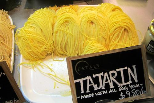 NYC - Eataly NY: Tajarin