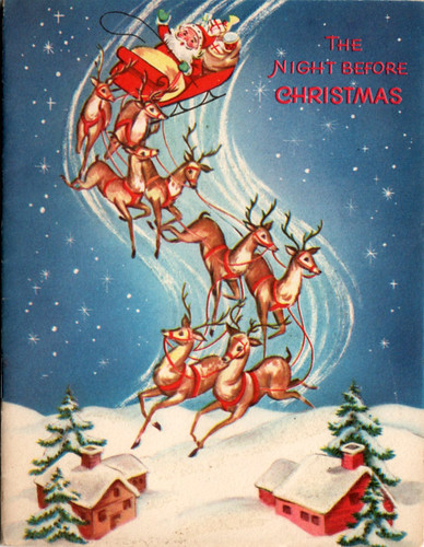 The Night Before Christmas Vintage Christmas Card | by Jim, the Photographer