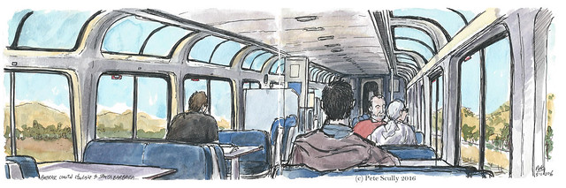 Train to Santa Barbara