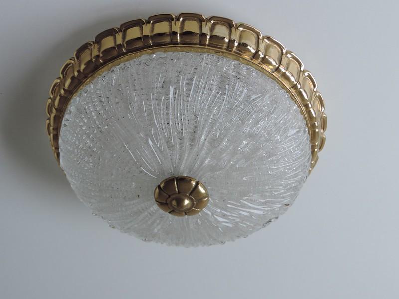 Plafonniere Messing Glas : Plafoniere deckenlampe wandlampe lampe glas massiv messing ebay