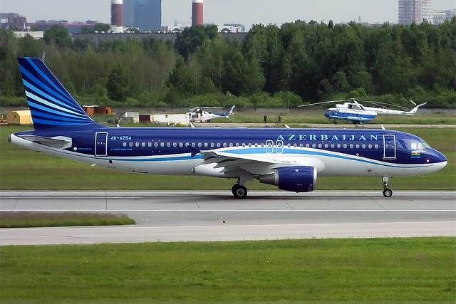 Azerbaijan Airlines, 4K-AZ54, Airbus A320-211