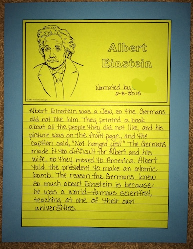 Einstein Notebook Page | by prayingmother