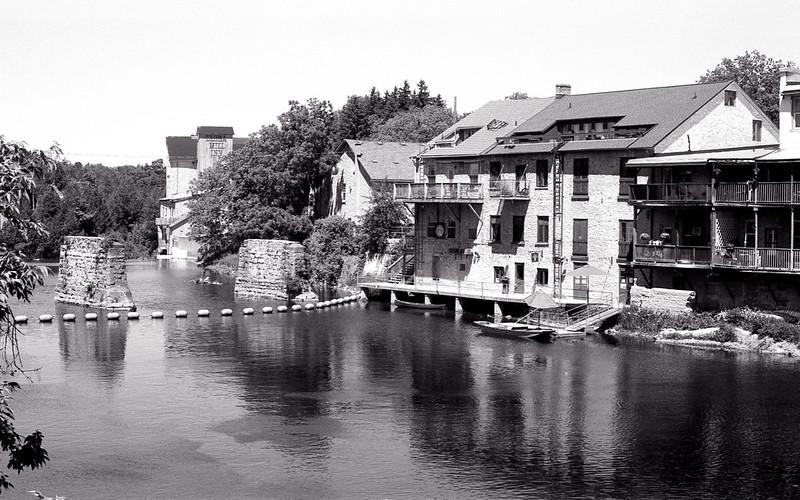 Grand River Through Elora