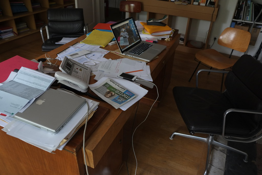 Mon bureau est en bordel jean louis langlois flickr