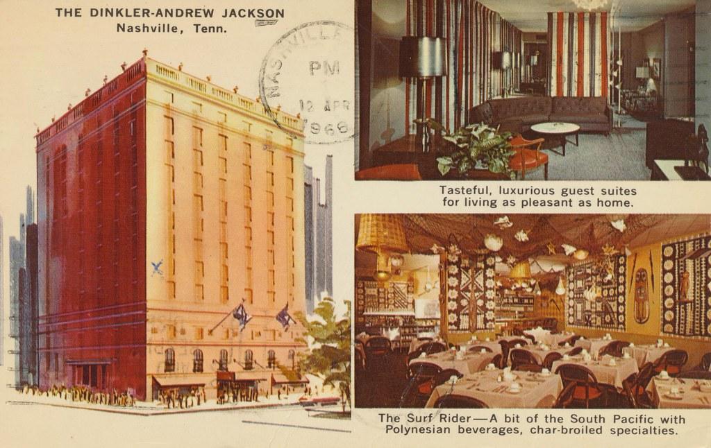Dinkler-Andrew Jackson - Nashville, Tennessee