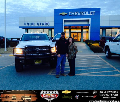 Four Stars Auto Ranch >> Thank you to Brent And Toni Kesey on your new 2013 #Ram #2 ...