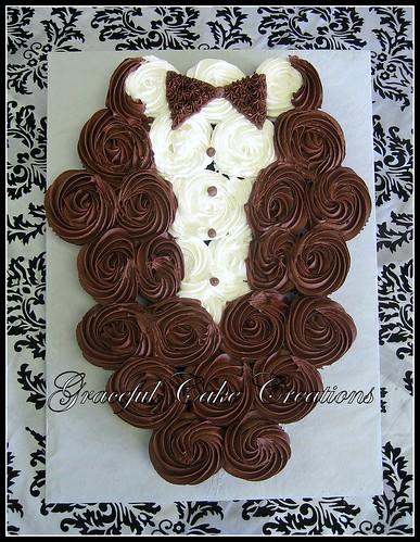 Wedding Dress Cupcake Cake Walmart