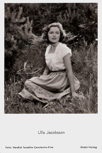 Ulla Jacobsson in Hon dansade en sommar (1951)