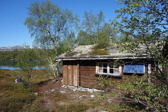 Cabin in Norway by the lake of Stor-Våndsjön