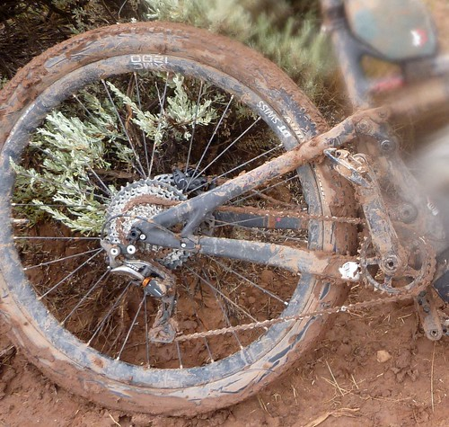 Muddy bike - after cleaning!