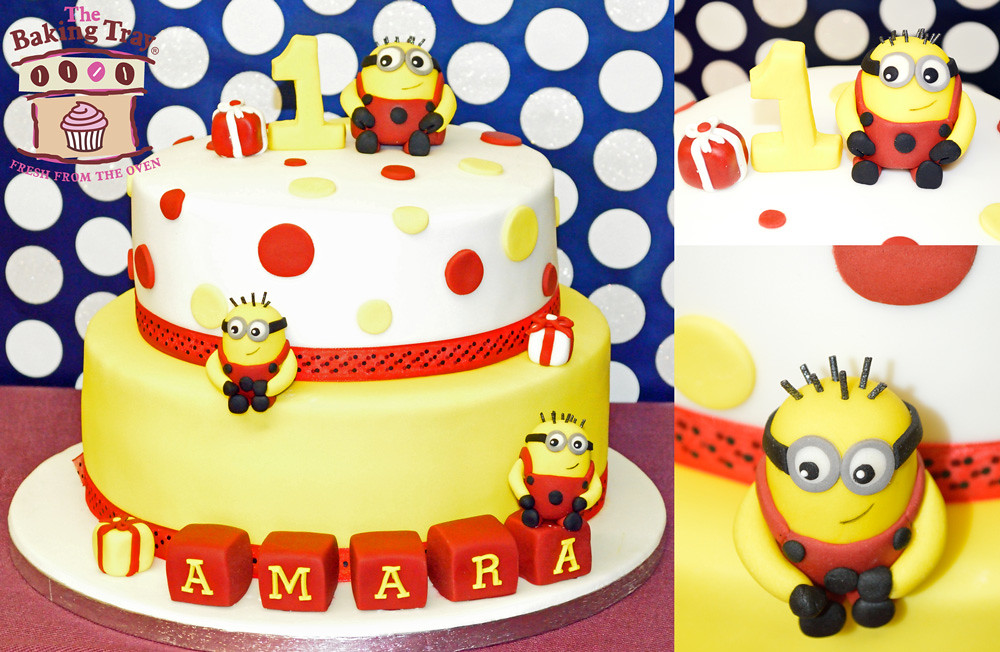 Despicable Me Minion Cake Thebakingtray Flickr