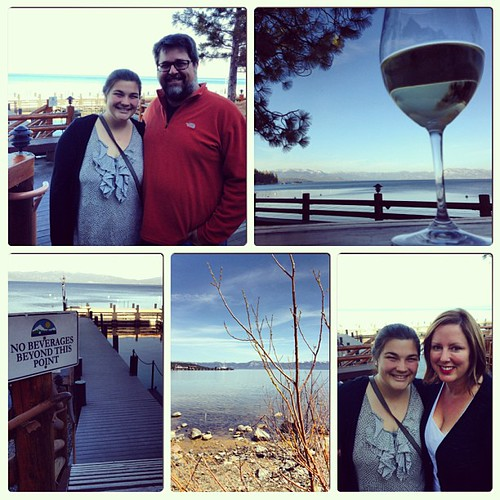 Day on the lake with @chrisheuer and @chloealexmayer #instacollage #tahoe #laketahoe #westshore | by kristiewells