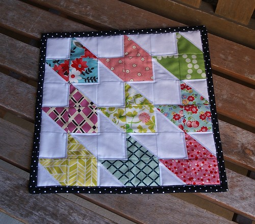 Chevron Doll Quilt | by fabricmutt
