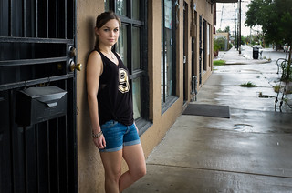 What I Wore DIY  New Orleans Saints Tank | by CieraHolzenthal
